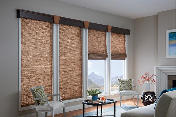 Curtains Ideas curtains blinds shades : Natural Woven Shades - Blind Time - Curtains, Blinds, Shades